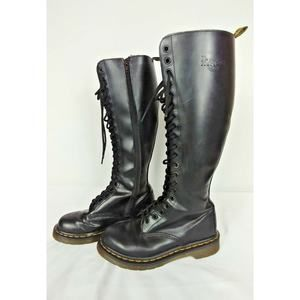 Dr Martins Doc Tall Leather Boot 20 eyelet Sz 5